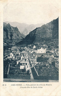 VILLA DA RIBEIRA - N° 8 - VISTA PARCIAL DA VILLA DA RIBEIRA GRANDE-ITHA DE SANTO ANTAO - Cap Vert