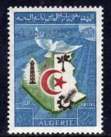 Allgérie N ° 379 XX Anniversaire De L'Indépendance Sans Charnière  TB - Algérie (1962-...)