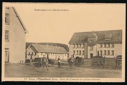 ELSENBORN KAMP  ---  COUR DES CASERNE ET CUISINES ROULANTES - Elsenborn (Kamp)