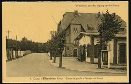ELSENBORN KAMP  ---  CORPS DE GARDE A L'ENTREE DU CAMP - Elsenborn (Kamp)
