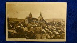 Erfurt Dom Und Severikirche Germany - Erfurt
