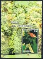 Bloc Sheet Oiseaux  Birds   Neuf  MNH **  Dominica 2007 - Birds
