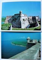 CUBA.fort El Morro Santiago De Cuba.LOT DE 2  CARTES. - Châteaux