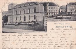 CPA - Souvenir D'Arlon - Hôtel De Ville - 1902 - Aarlen