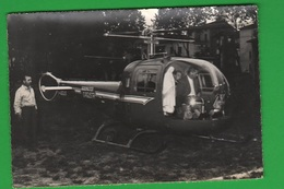 Aeronautica G. Agusta Elicottero E Madonna Di Fatima Elicottero Helicopters Hélicoptères Helikopter - Aviazione