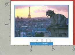 CARTOLINA VG FRANCIA - PARIS - Ville Lumiere - 10 X 15 - ANN. 1996 - Parigi By Night