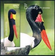 Bloc Sheet Oiseaux Birds Neuf MNH ** Ghana 2015 - Birds