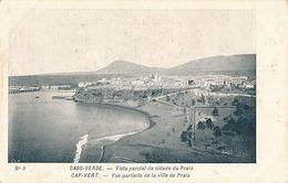 PRAIA - N° 9 - VUE PARTIELLE DE LA VILLE DE PRAIA - Cap Vert