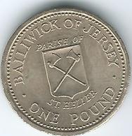 Jersey - Elizabeth II - 1 Pound - 1983 - Parishes - St. Helier - KM59 - Jersey