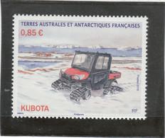 B4 - TAAF 854 ** MNH De 2018 - Transport - KUBOTA - - Terres Australes Et Antarctiques Françaises (TAAF)
