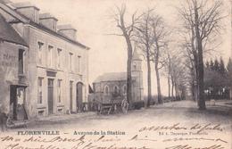 CPA - Florenville - Avenue De La Station - 1905 - Florenville