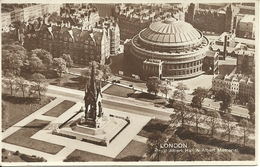 London (England) Royal Albert Hall And Albert Memorial, Aerial View, Vue Aerienne, Luftansicht - Altri