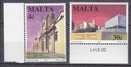 PGL AA0670 - MALTE MALTA Yv N°879/80 ** ARCHITECTURE - Malte