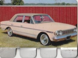 """Plaquette Collection """"L'Auto à Travers Les âges"""" : Rambler Ambassador 1964 - Plaques Publicitaires"""