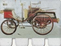 """Plaquette Collection """"L'Auto à Travers Les âges"""" : Hurtu 1899 - Plaques Publicitaires"""