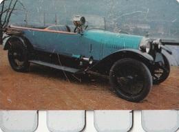 """Plaquette Collection """"L'Auto à Travers Les âges"""" : Hotchkiss 1922 - Plaques Publicitaires"""