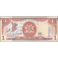 TWN - TRINIDAD & TOBAGO 46Ab - 1 Dollar 2006 (2018) Prefix RT - Signature: Hilaire UNC - Trinidad & Tobago