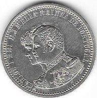 Portugal 1898: 4°CENTENARIO DA DESCOBERTA DA INDIA (CARLOS I REI & AMELIA RAINHA) 500 REIS XF (12.5g Silver 927 Fine) - Portugal