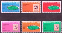 Haitil - Mundiales Alemania 1974 - 738/39 + A.522725 - Nuevo - World Cup