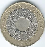 Jersey - Elizabeth II - 2 Pounds - 1998 - KM102 - Jersey