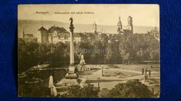 Stuttgart Schlossplatz Mit Altem Schloss Germany - Stuttgart