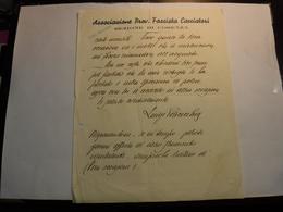 COSENZA   --- ASSOCIAZIONE PROVINCIALE  FASCISTA CACCIATORI - Italie
