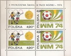 Polonia - Mundiales Alemania 1974 - HB-65 - Nuevo - Coppa Del Mondo