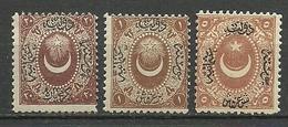 Turkey; 1865 Duloz Due Stamps Type I MH/MNH-VF - Nuevos
