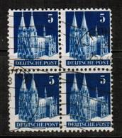GERMANY  Scott # 636 VF USED BLOCK Of 4 (Stamp Scan # 455) - [7] République Fédérale