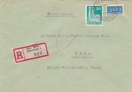 Brief Aus Köln 1951 - [7] République Fédérale