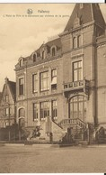 Halanzy: L'Hôtel De Ville Et Le Monument Aux Victimes De La Guerre - Aubange