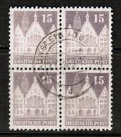 GERMANY  Scott # 643 VF USED BLOCK Of 4 (Stamp Scan # 455) - [7] République Fédérale
