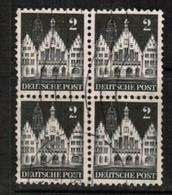 GERMANY  Scott # 634 VF USED BLOCK Of 4 (Stamp Scan # 455) - [7] République Fédérale