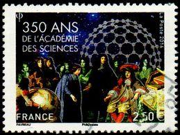 Oblitération Cachet à Date Sur Timbre De France N° 5074 - Académie Des Sciences - Mappemonde Globe - - France