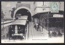 Lausanne - Ouchy - Funiculaire - Standseilbahn - Bahnhof - Gare - 1905 - VD Vaud
