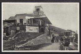 Monte Generoso - Stazione - Bahnhof - Train à Vapeur - Dampflok - TI Tessin