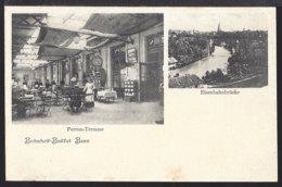 Bern - Bahnhof Buffet - Eisenbahnbrücke - Gare - Belebt - Animée - BE Berne