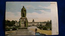 Karlsruhe Schloss Mit Karl Friedrich-Denkmal Germany - Karlsruhe