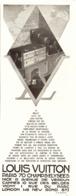 "PUB SELLERIE-MALLE-SAC    "" LOUIS VUITTON ""   1930  ( 3 ) - Altre Collezioni"