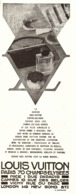 "PUB SELLERIE-MALLE-SAC    "" LOUIS VUITTON ""   1930  (4 ) - Altre Collezioni"