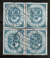 GERMANY  Scott # 681 VF USED BLOCK Of 4 (Stamp Scan # 455) - [7] République Fédérale