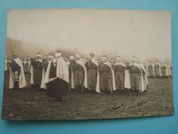 Militaire - Carte Photo - Militaires Tirailleurs En AFN - Défilé - 1916 - Régiments