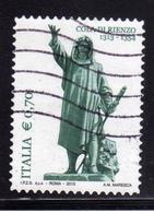 ITALIA REPUBBLICA ITALY REPUBLIC 2013 COLA DI RIENZO € 0,70 USATO USED OBLITERE' - 6. 1946-.. Repubblica