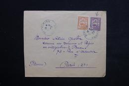 INDOCHINE - Entier Postal + Complément De Binh- Dinh Pour Paris En 1929 - L 23493 - Cartas