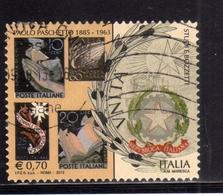ITALIA REPUBBLICA ITALY REPUBLIC 2013 PATRIMONI ARTISTICO E CULTURALE PAOLO PASCHETTO USATO USED OBLITERE' - 6. 1946-.. Repubblica