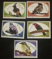 Ethiopia Ethiopie Äthiopien NEW ISSUE 2019 Complete Set Of 5 MNH / ** Birds Oiseaux Vogels - Etiopía