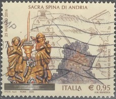 Italia 2016 Sacra Spina Di Andria - 6. 1946-.. Repubblica