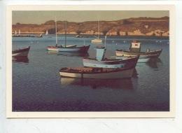 Port Manech : Barques Au Repos à Port Manech - Jean-Yves Couliou 1916/1995 Art Peinture Tableau (cp Vierge) - Autres Communes