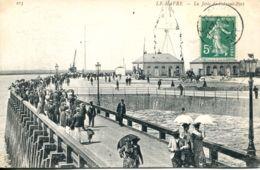 N°70379 -cpa Le Havre -la Jetée De L'avant Port- - Port
