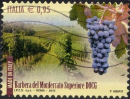 Italia 2016 Barbera Del Monferrato Superiore DOCG - 1946-.. République